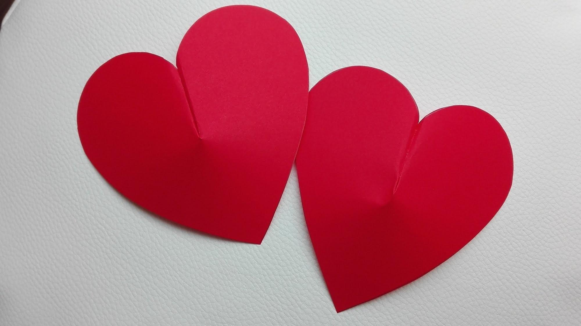 Jak zrobić Papierowe Serce 3D. How to make a 3D Paper Heart