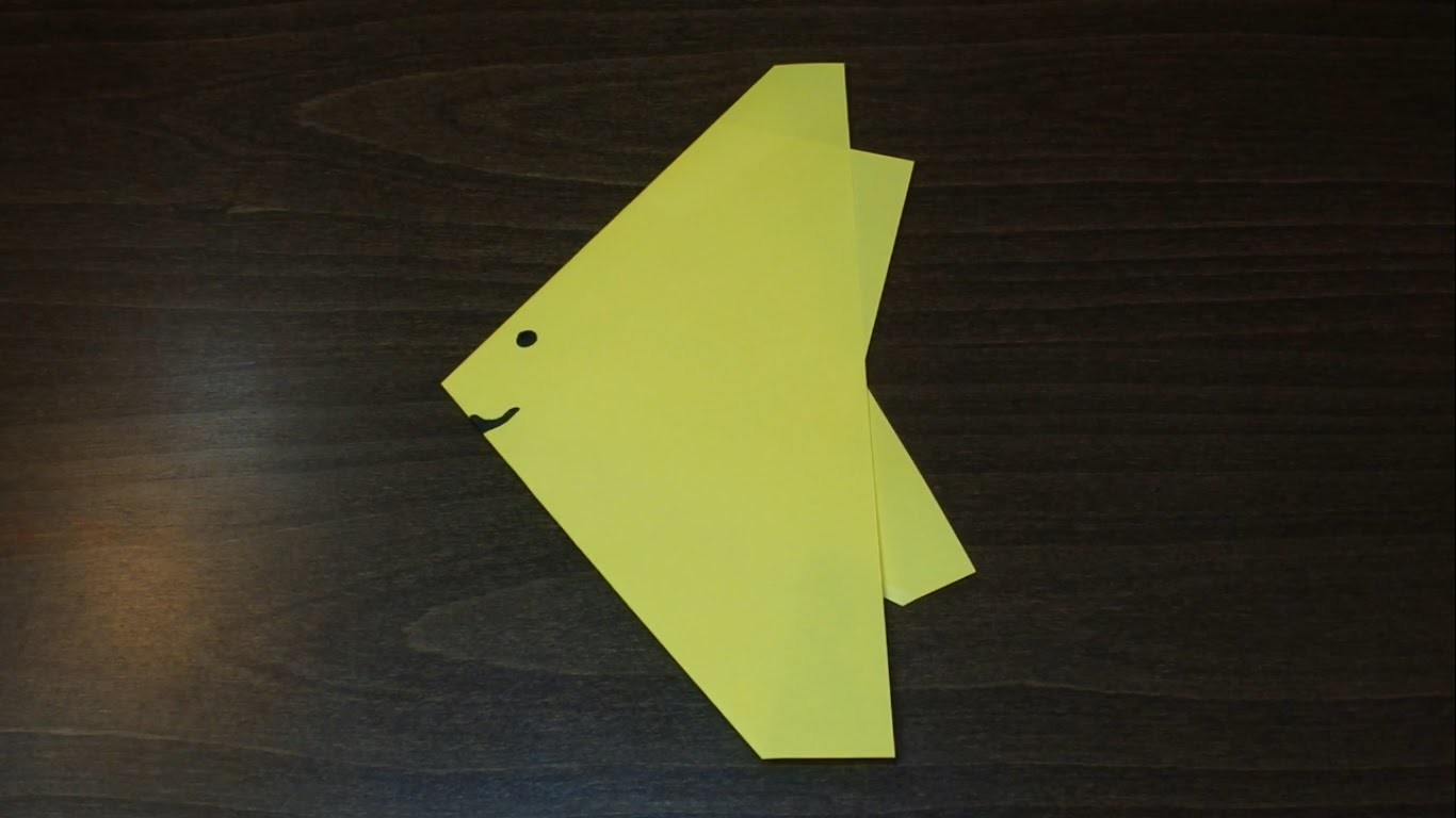 Ryba - Origami #9 (Paper fish)
