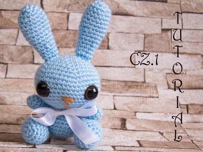 Króliczek na szydełku, część 1.2. Crochet bunny, part 1.2. Amigurumi