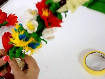 Palma Wielkanocna z bibuły #4  DIY |  Easter Palm tissue |