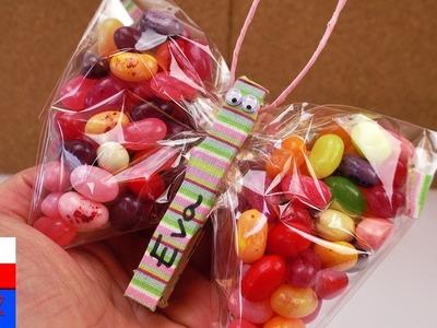 DIY International | motylek wypełniony słodyczami | fantastyczny pomysł n prezent