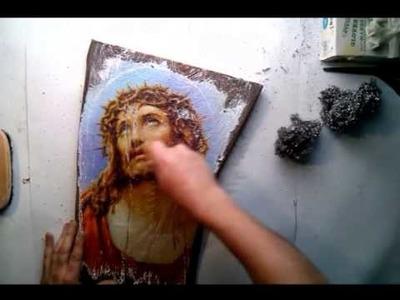 OBRAZY NA DREWNIE - cicha galeria - odcinek 2