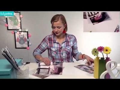 Organizer na długopisy na Dzień Taty - DIY