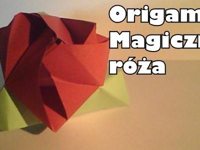 Origami - Magiczna róża
