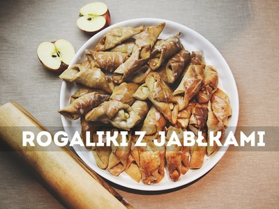 Przepis na rogaliki z jabłkami
