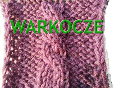 Jak się robi warkocze na drutach? || Iwona Eriksson