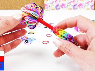 Zrób to sam: ozdoba na długopis lub szydełko