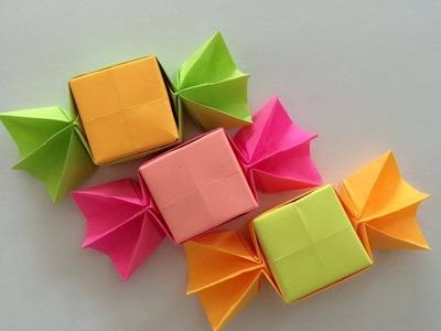Cukierki z papieru origami po polsku łatwe dla dzieci 2015