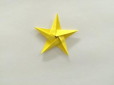 Gwiazdka z papieru - jak zrobić origami z papieru po polsku