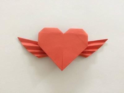 Serce anioła z papieru - jak zrobić origami z papieru po polsku
