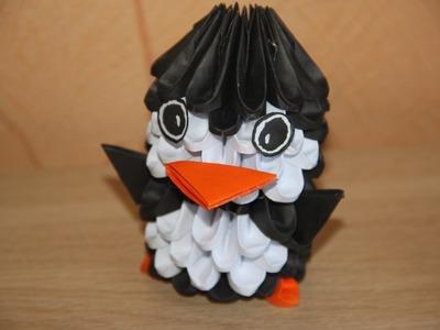 #2 Pingwin - Origami modułowe poradnik