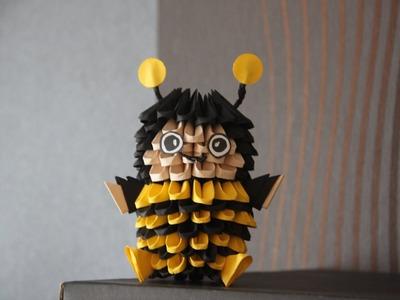 #8 Pszczoła - Origami modułowe