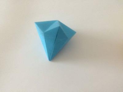 Jak zrobić diament z papieru origami z papieru po polsku 2015