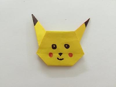 Pikachu z papieru origami - jak zrobić krok po kroku po polsku