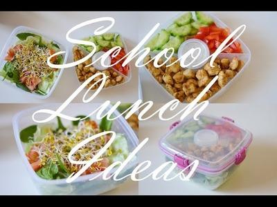 6 pomysłów na lunch do szkoły. School Lunch Ideas