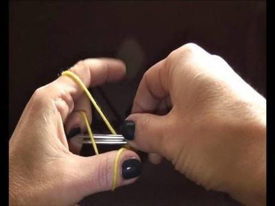 Knitting Stricken - Maschenanschlag . Nabieranie oczek na druty
