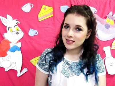 Alicja w Krainie Czarow makijaz + kostium DIY | suzanne marie
