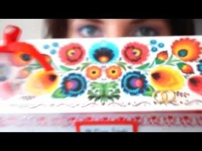 Creative Scrapbook - kartka ślubna