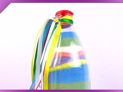 DIY Colored salt bottle (ENG Subtitles) - Speed up #130