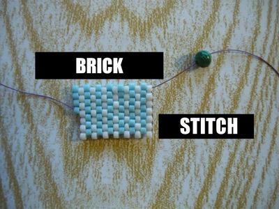 Ścieg koralikowy Brick Stitch [TUTORIAL] | Qrkoko.pl