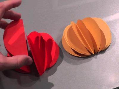 Jak zrobić bombki z papieru