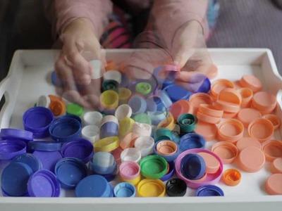 Film instruktażowy jak kreatywnie wykorzystać plastikowe nakrętki