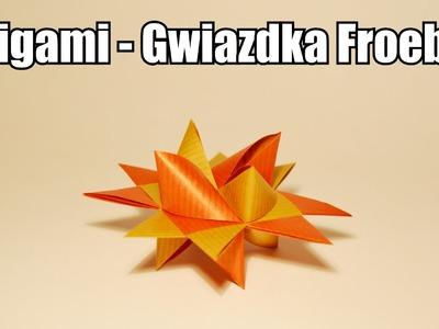 Origami - Gwiazdka Froebla