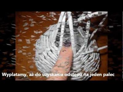 Balwan z wikliny papierowej