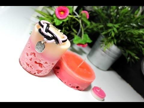Walentynkowa świeca lodowa. DIY ICE CANDLE