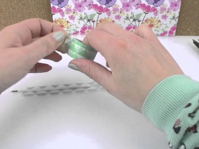 DIY International | pióro z washi tape | długopis w kształcie pióra | prosty pomysł na prezent