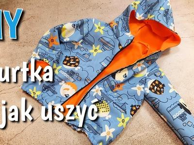 Jak uszyć kurtkę DIY (z podszewką) | How to sew a simple jacket