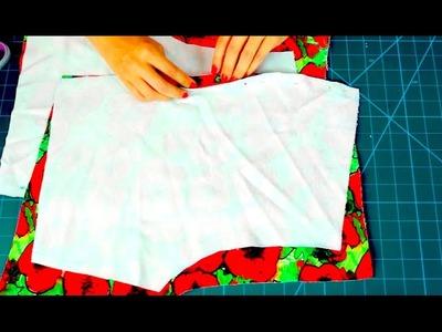 DIY - Zrób to Sama - szyjemy szorty - tutorial Złoty Krój