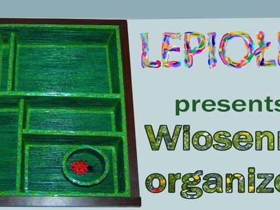 TUTORIAL DIY: Wiosenny organizer z papieru εïз  Spring organizer paper