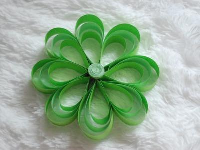 Jak zrobić Kwiaty z Pasków Papieru. How to make Paper Strip Flowers