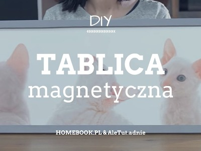 Magnetyczna ramka do pokoju dziecka #DIY #RAMKA #DEKORACJE