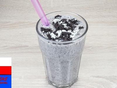 Milkshake bananowy z ciasteczkami Oreo | shake w 2 minuty | prosty i pyszny przepis