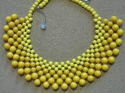 Prosty sposób na naszyjnik ściegiem RAW ★ TUTORIAL DIY ★ [#11] Kurs tworzenia biżuterii od podstaw