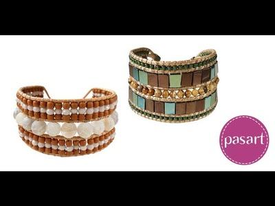 Jak zrobić bransoletkę w stylu etno? Kurs DIY pasart.pl