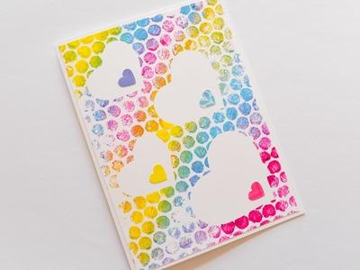 How to Make - Greeting Card Heart - Step by Step | Kartka Okolicznościowa Serca