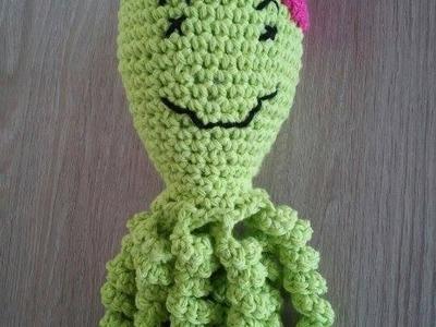 """No 38# """"poprawiony"""" Ośmiorniczka na szydełku - Octopus on crochet - PART 2-2"""