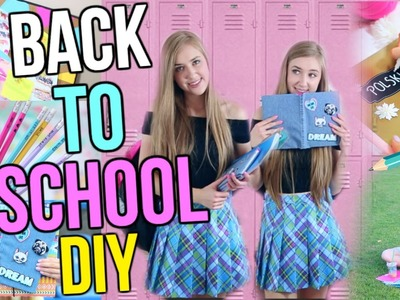 BACK TO SCHOOL DIY przybory szkolne. DIY school supplies