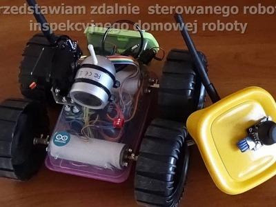NRF24l01 DIY RC robot inspekcyjny. homemade robot with camera