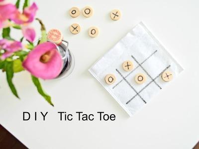 DIY Tic Tac Toe | Pomysł diy na grę dla dziecka! Cleo-inspire