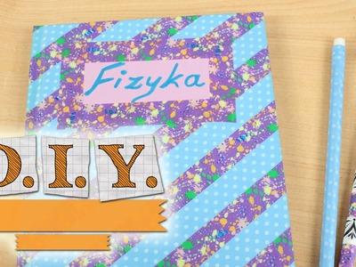 DIY - Kreatywne Czwartki - Ozdabianie Zeszytów. Notebook Decorating - Zrób to sam!