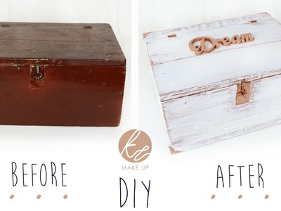 DIY * Odnawianie starej skrzynki