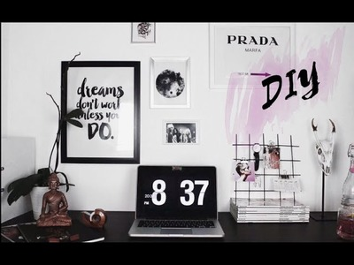 DIY BACK TO SCHOOL |Dekoracja biurka i akcesoria szkolne |klaudiałepkowska