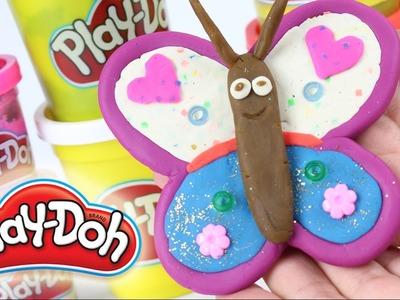 DIY - Stwórz Motylka z Ciastoliny Play-Doh! - Kreatywne Zabawy - Zrób to sam!