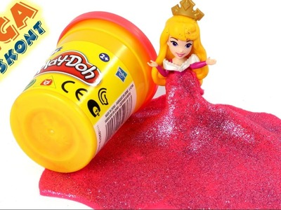 DIY - Dress Sleeping Beauty - How to do? - Disney Princess & Play-Doh