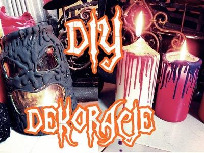 DIY Dekoracje na Halloween - Swiece