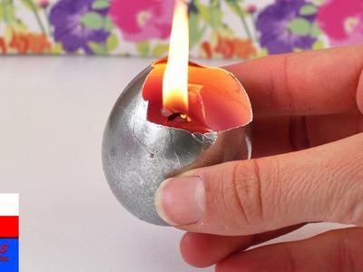DIY International | prawdziwa świeczka w jajku wielkanocnym | idealny pomysł na prezent